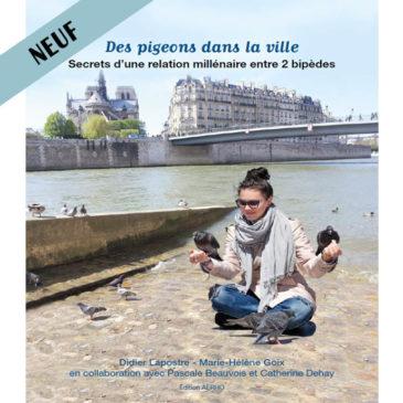 Livre des pigeons dans la ville