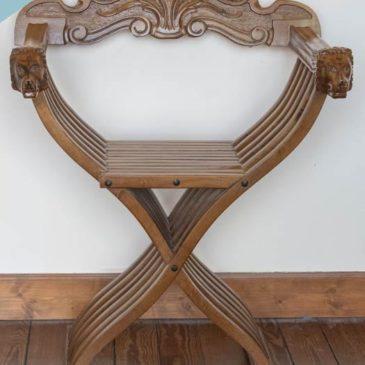 fauteuil bois pliable