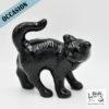 Chat noir émaillé